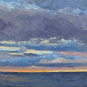 Big Sky in a Little Painting #1