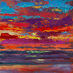Big Sky-Little Painting #11