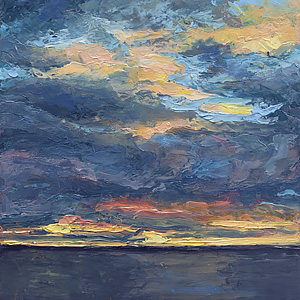 Big Sky in a Little Painting #2