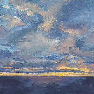 Big Sky in a Little Painting #3